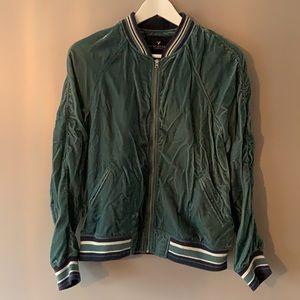 American Eagle Vintage Velvet Track Jacket
